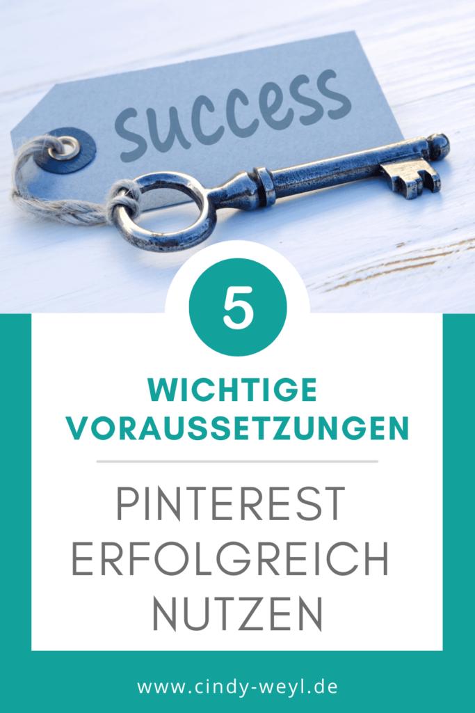 Pinterest erfolgreich nutzen 5 Voraussetzungen